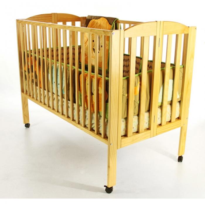 Folding Full Size Crib Dream On Me