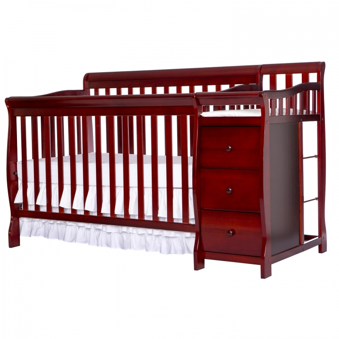 Brody 4 in 1 Convertible Crib with Changer : Dream On Me
