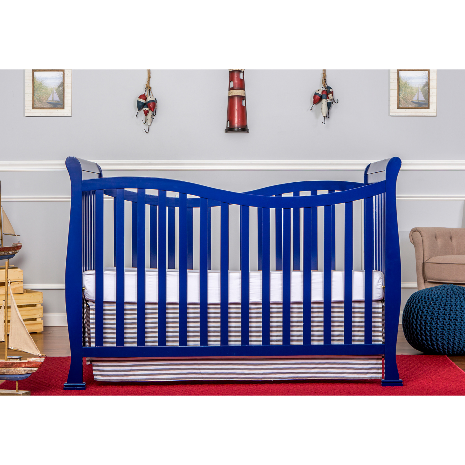 Violet 7-in-1 Convertible Life Style Crib | Dream On Me