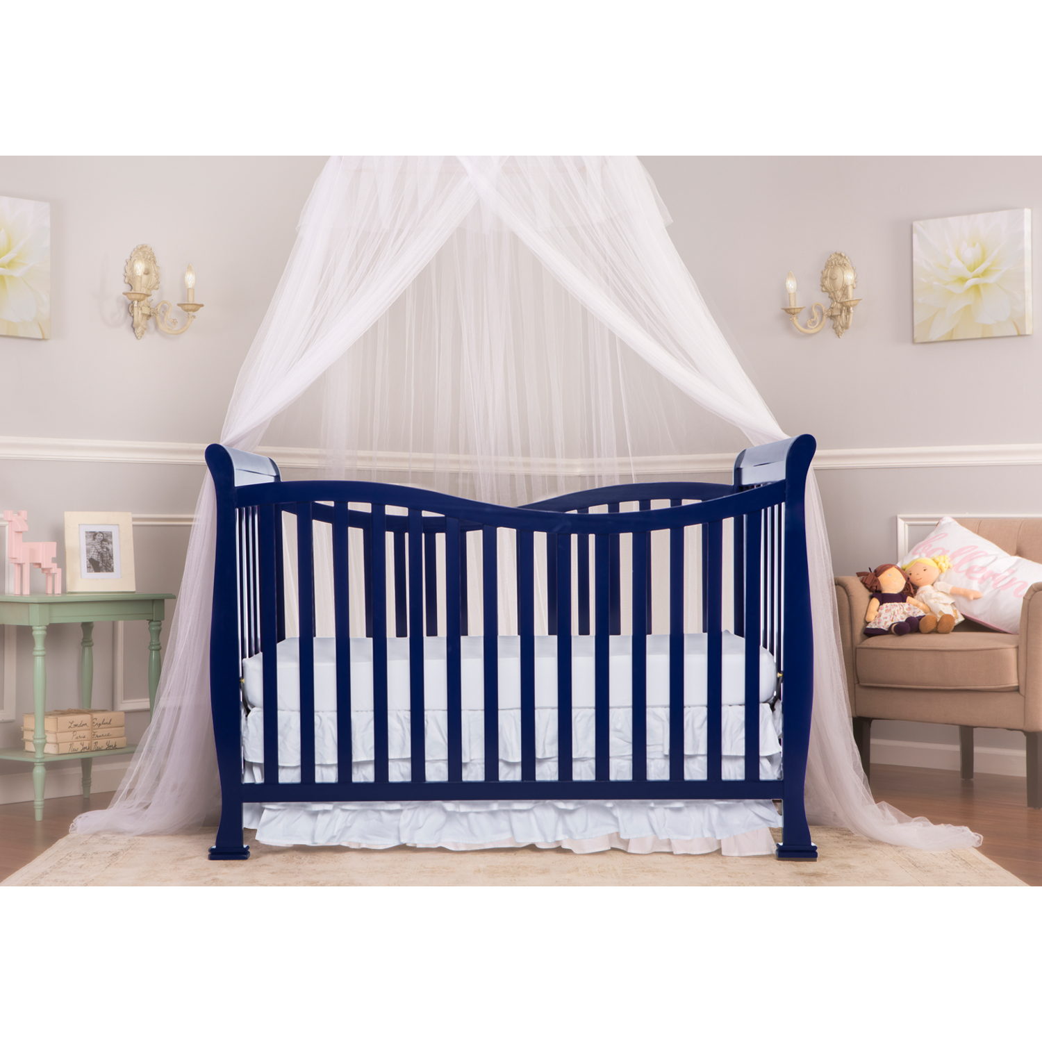 Violet 7 In 1 Convertible Life Style Crib Dream On Me
