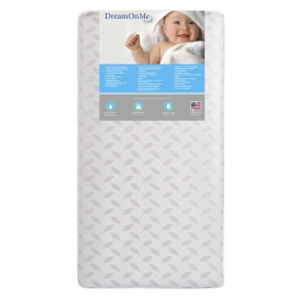 132_132 Premium Coil Inner Spring Standard Crib & Toddler Mattress