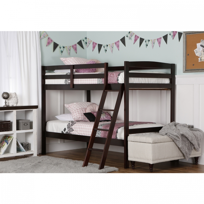 Taylor 2 In 1 Twin Over Twin Bunk Bed Dream On Me
