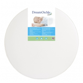 "4"" Thick Round Crib Mattress"