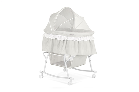 Lacy Portable 2 in 1 Bassinet and Cradle