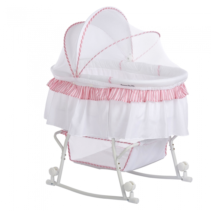 Lacy Portable 2 In 1 Bassinet Amp Cradle Dream On Me