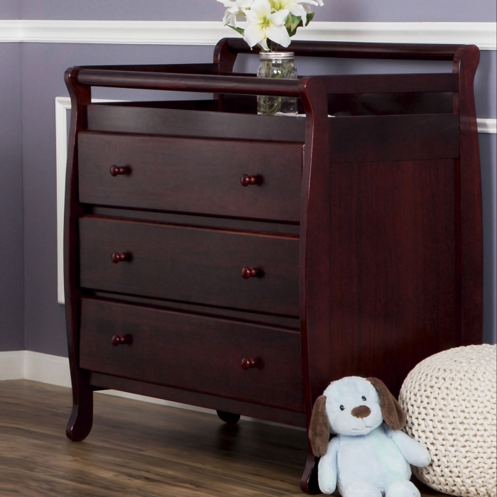 Liberty Collection 3 Drawer Changing Table Dream On Me