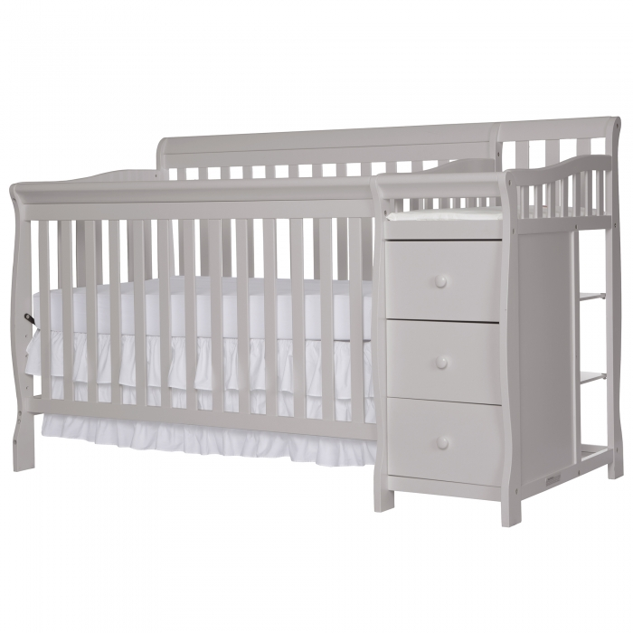 Brody 5 In 1 Convertible Crib With Changer Dream On Me