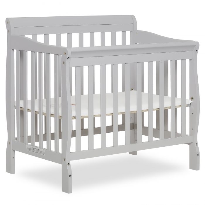 Aden 4 In 1 Convertible Mini Crib Dream On Me