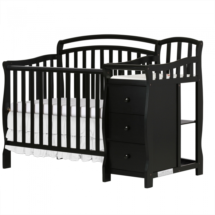 Casco 3 In 1 Mini Crib And Dressing Table Combo Dream On Me
