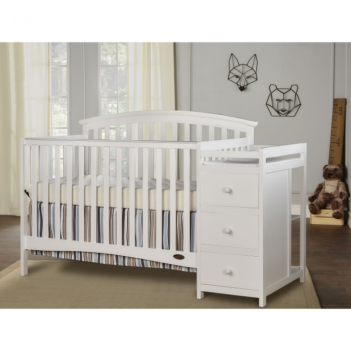 Niko 5 In 1 Convertible Crib With Changer Dream On Me