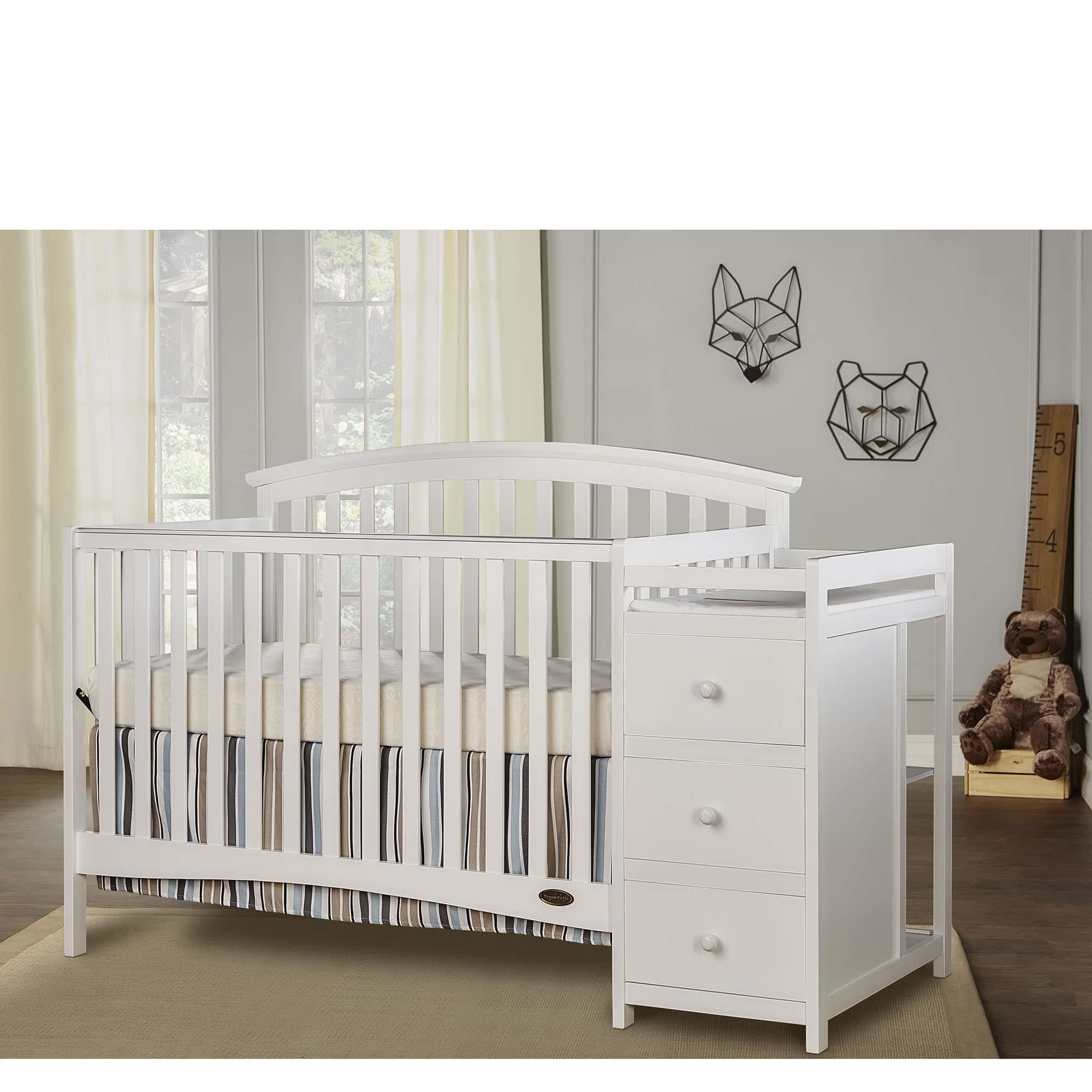 656_W_White_Niko_5_in_1_Convertible_Crib_With_Changer-1