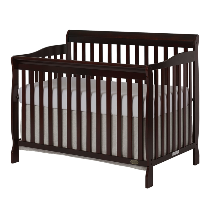 Ashton 5 In 1 Convertible Crib Dream, Dream On Me Cradle Bedding