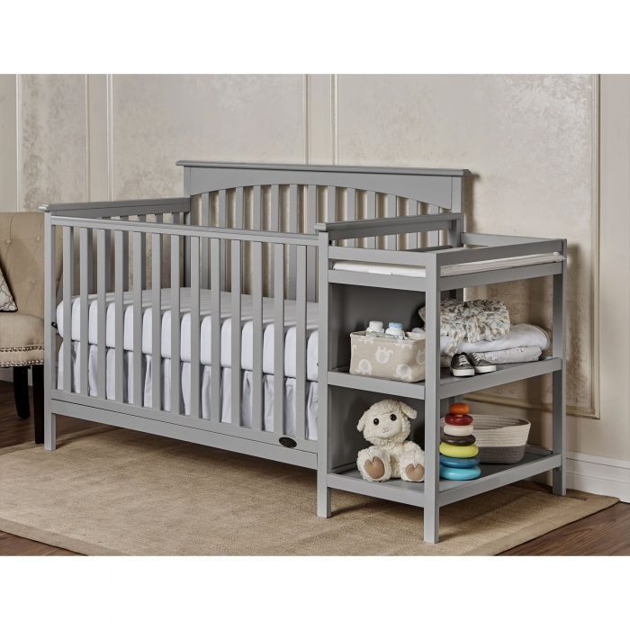 Chloe 5 In 1 Convertible Crib With Changer Dream On Me
