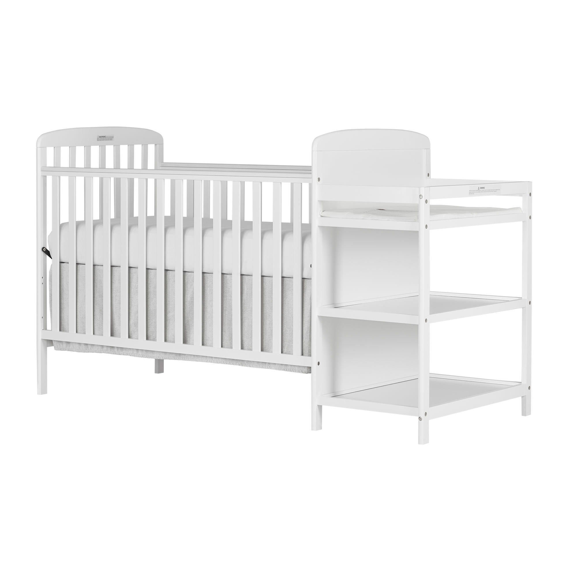 Image of: Anna 4 In 1 Full Size Crib Changing Table Combo Dream On Me