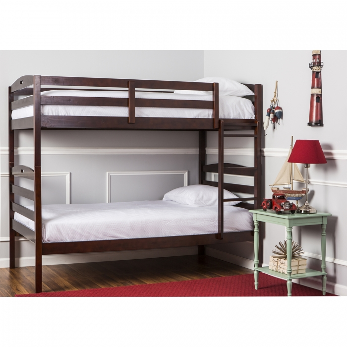 Nova 2 In 1 Twin Over Twin Bunk Bed Dream On Me