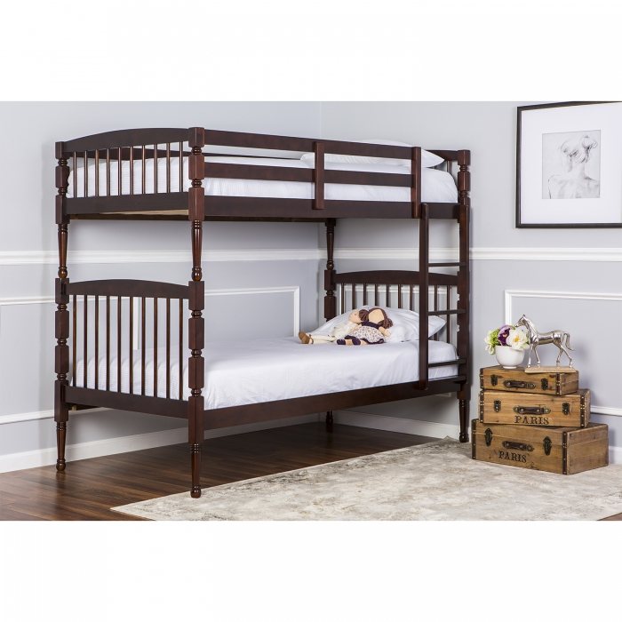 Julia 2 In 1 Twin Over Twin Bunk Bed Dream On Me