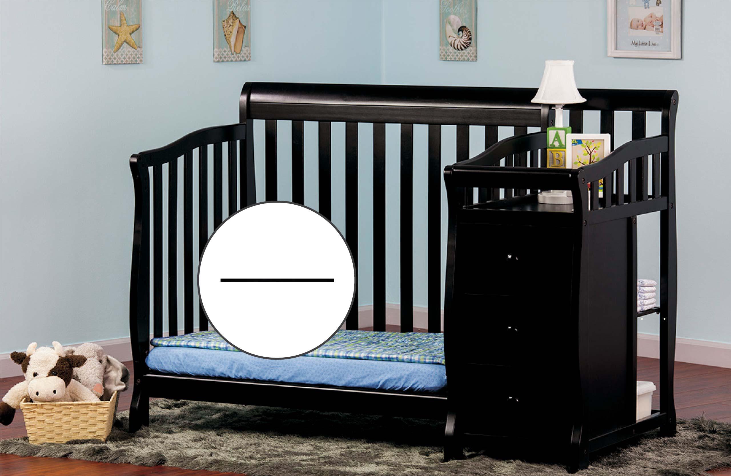 Mini Crib with Changer