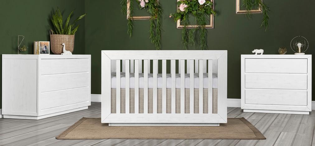 The Aurora 5-in-1 Convertible Crib